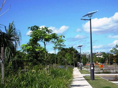 Solar path lighting