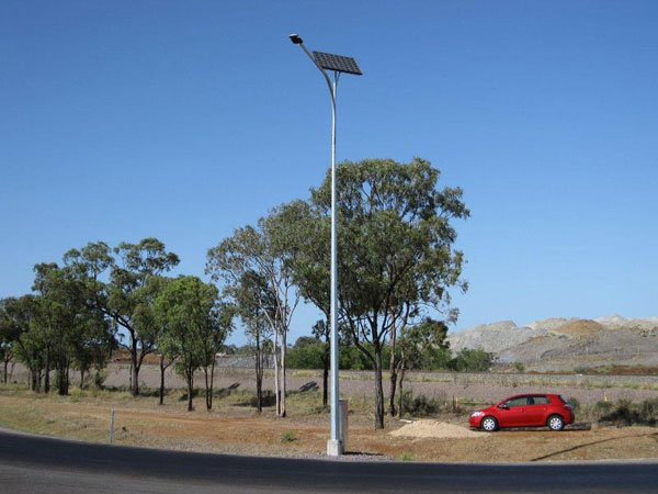 Transport approved solar lighting