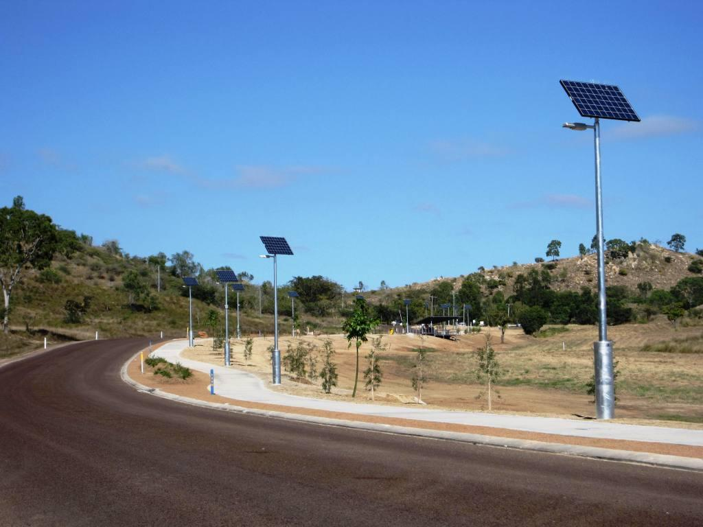 Solar path lights by Orca Solar Lighting