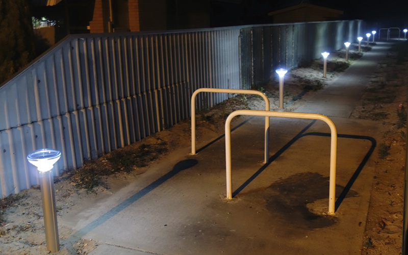 Solar Bollard Lighting Part - 36: Solar Bollard Lights For Parks