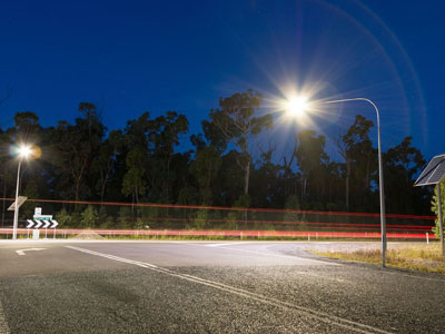 Solar Street Light Vertex