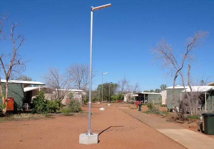 Solar Lights mine sites