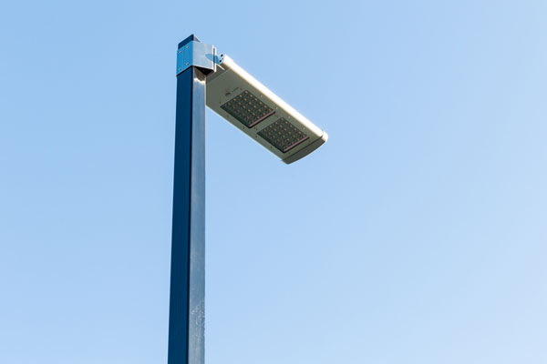 Integrated solar lights
