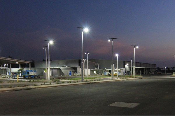 Vertex commercial solar light solutions