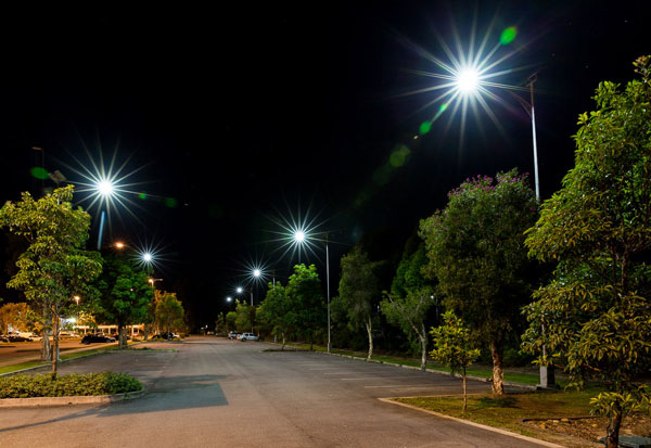 Solar Car Park Lights