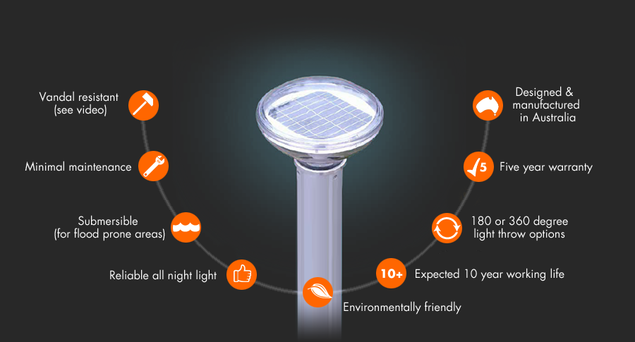 Solar Bollard Lighting Specifications