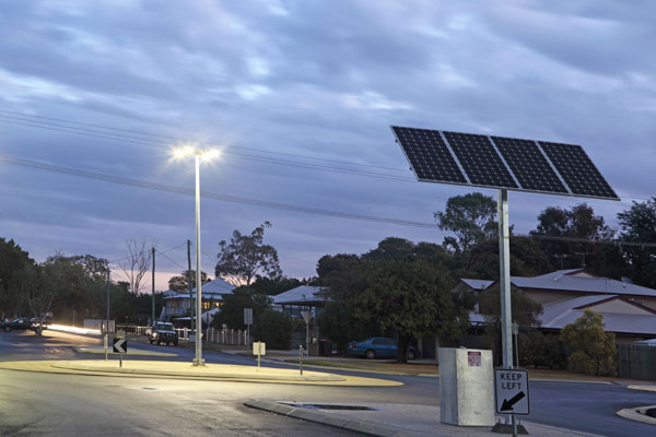 solar lights and bollards