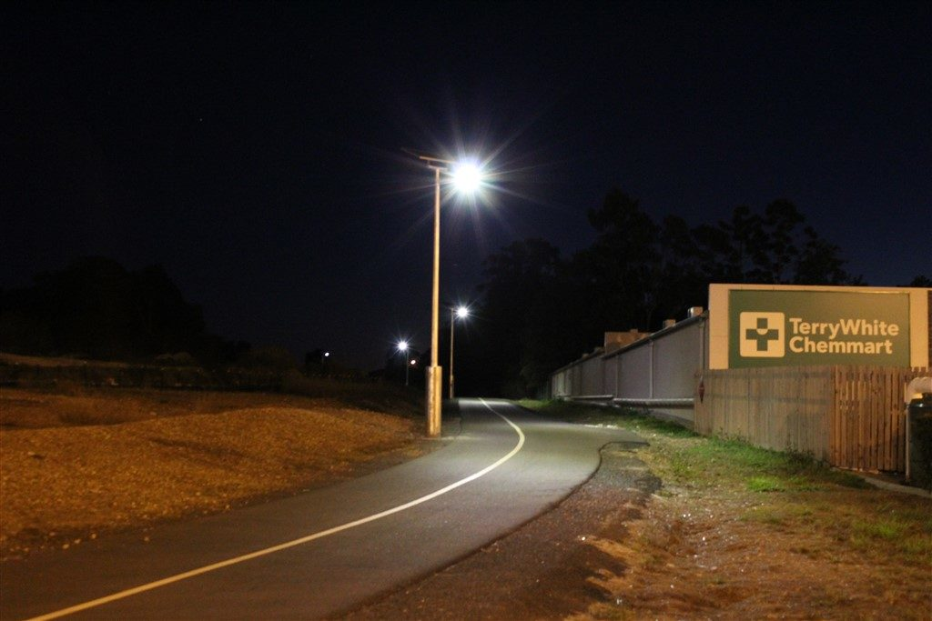 Hervey Bay Fraser Coast Council Orca Solar Lighting