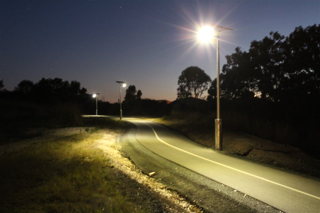 Solar Path Lighting and safety bollard lights