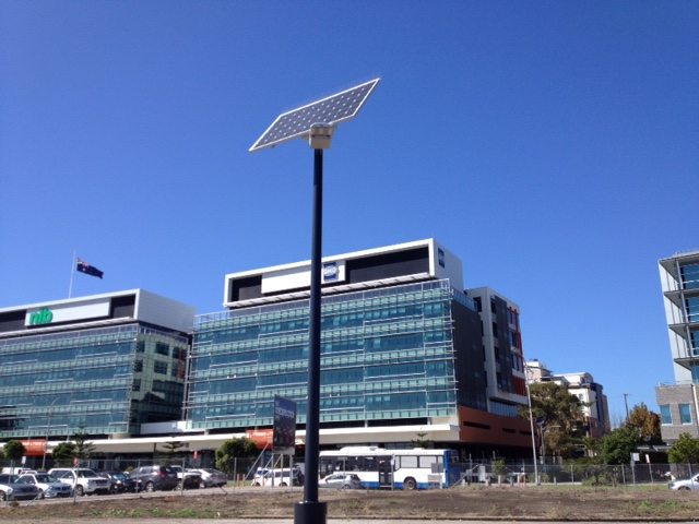 Solar Street Lights for NT Government.
