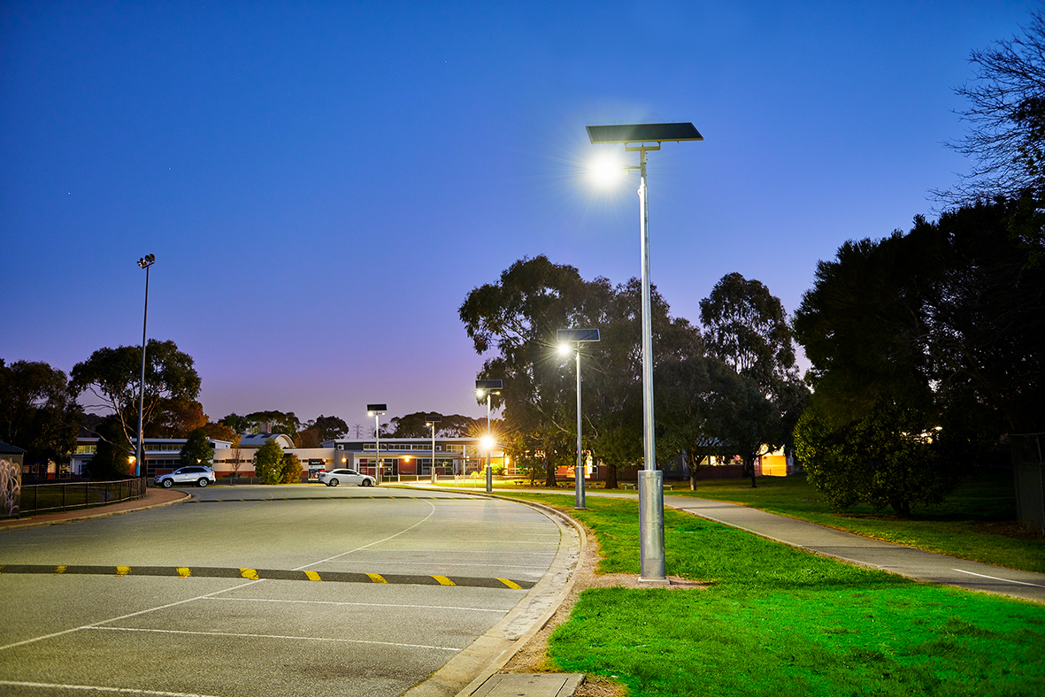 Solar Car Park Lighting