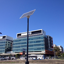 Solar path lighting for NSW State Government
