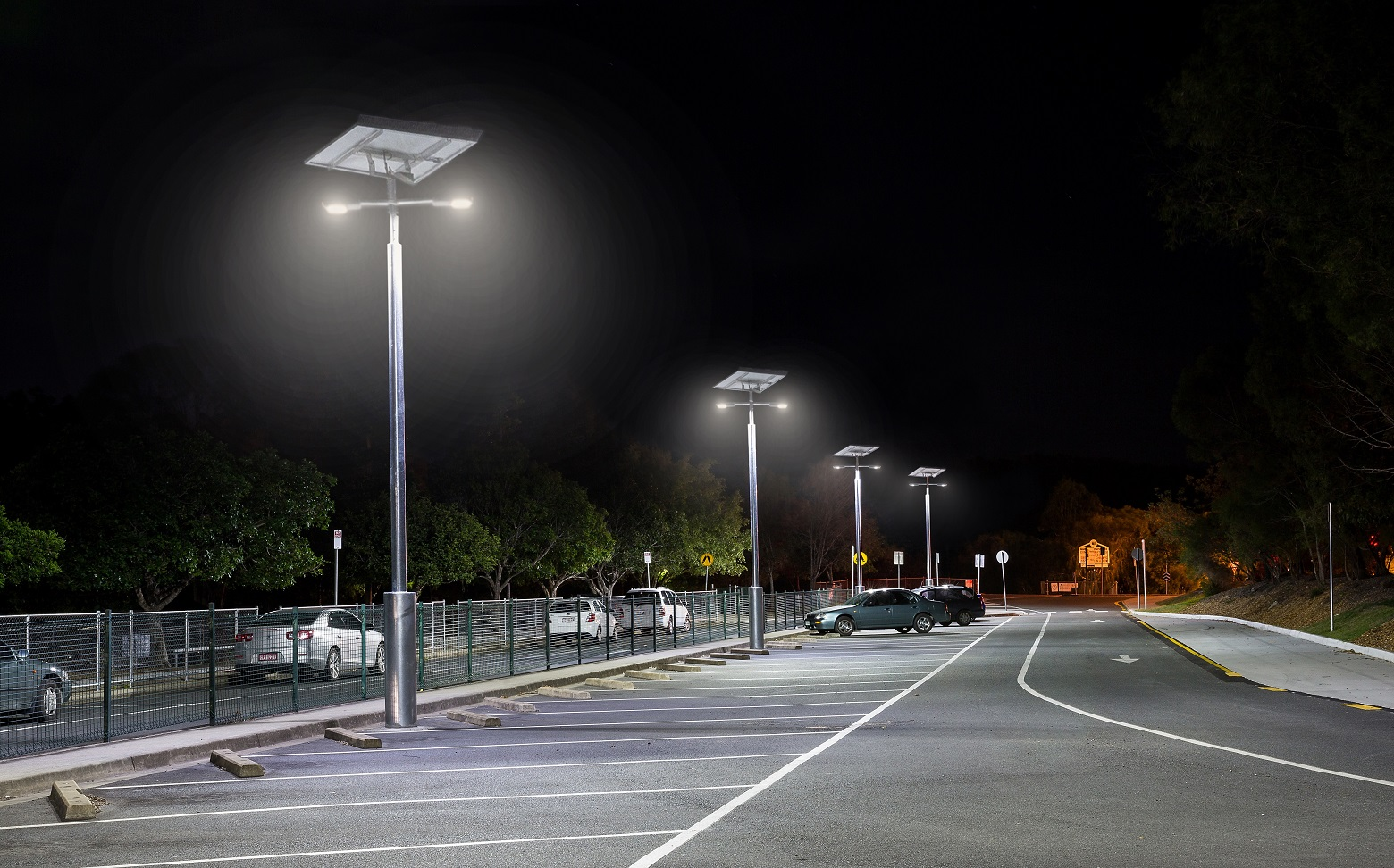 Solar Street and Car Park Lighting
