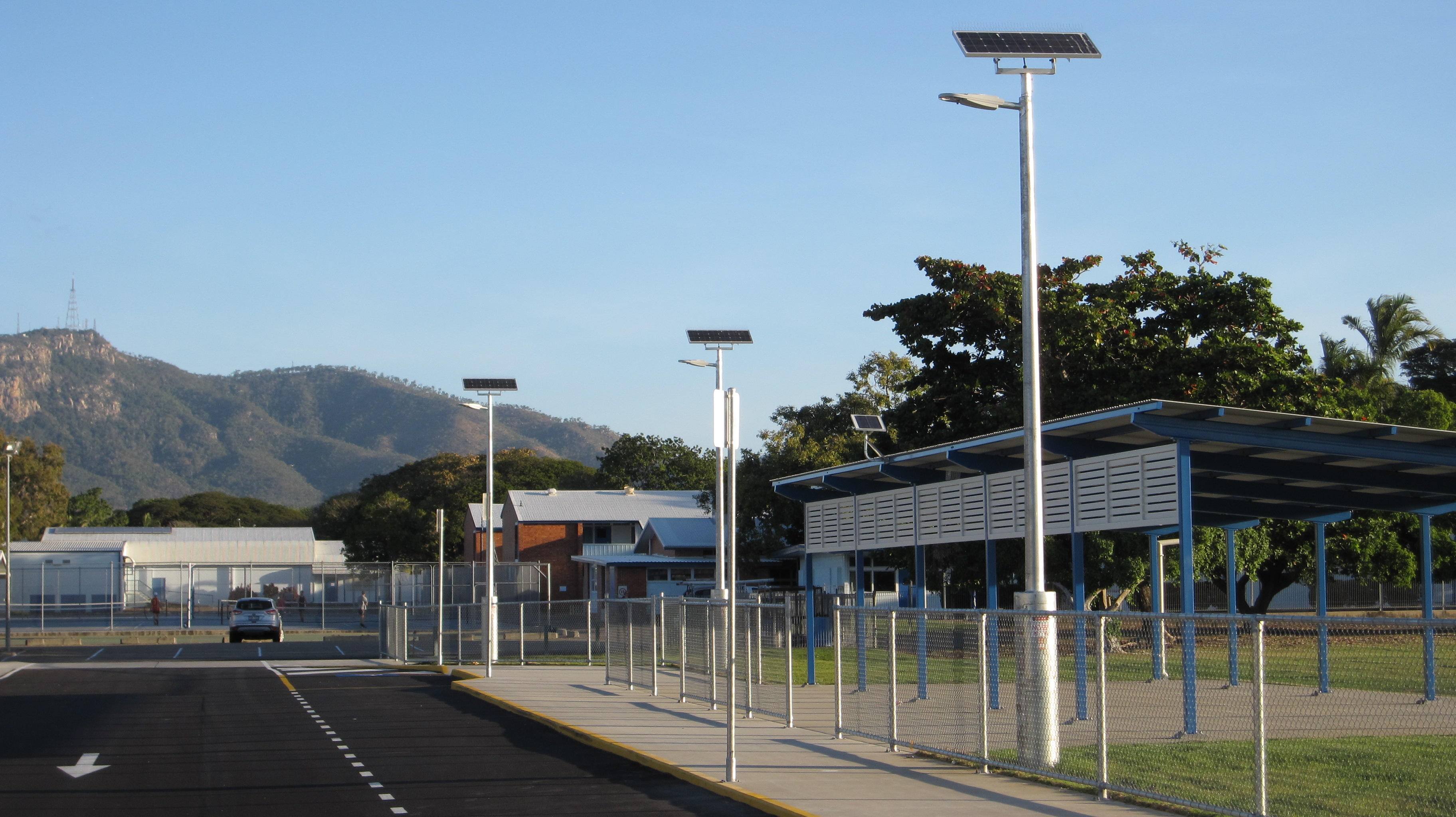 Solar street light for a Queensland Council.