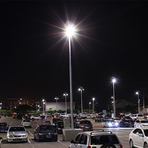 Vertex solar car park lighting for Queensland Government