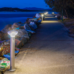 Solar Lighting bollards