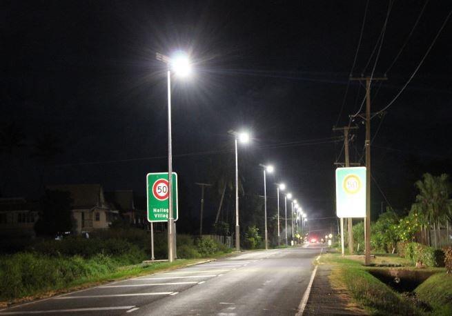 Transport approved solar lighting