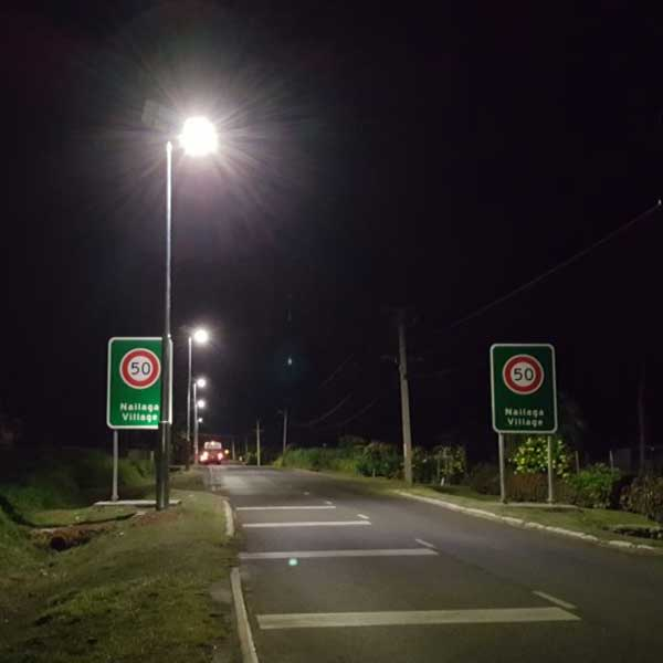 Fiji Roads Authority are rolling out significant highway lighting upgrades, utilising solar for the remote areas where power is not available.