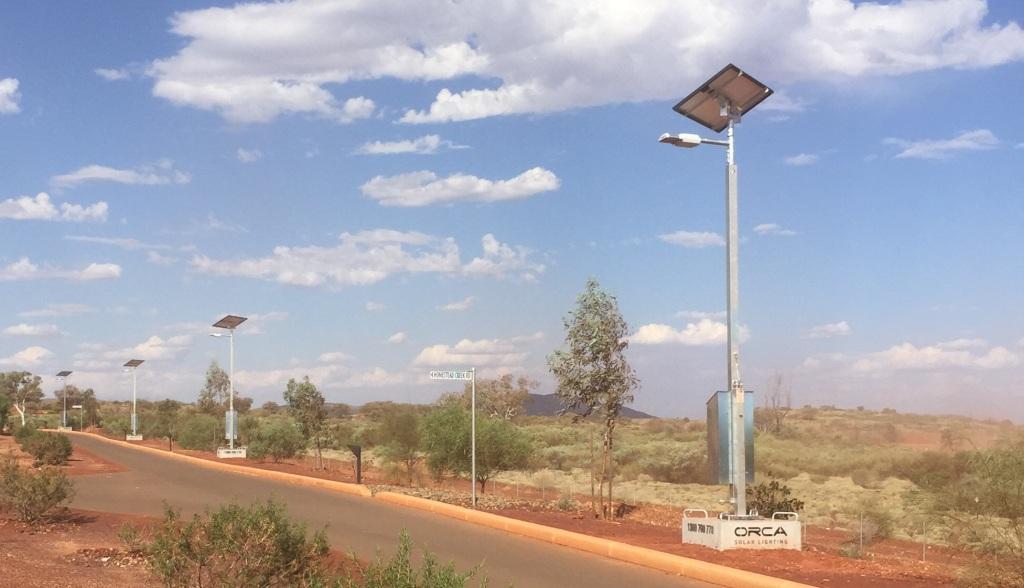 Portable temporary solar lights