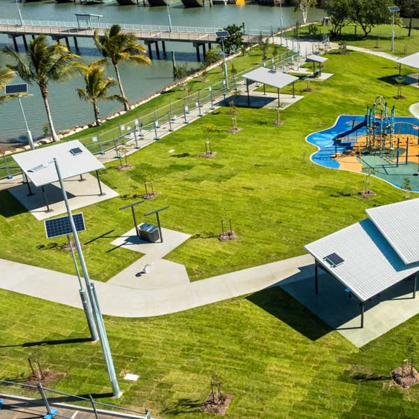 The $25 Million Townsville Recreational Boating Precinct provides the North Queensland recreational boating community with a world-class sheltered all-tide facility.