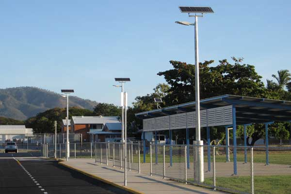 Street lighting for Townsville school
